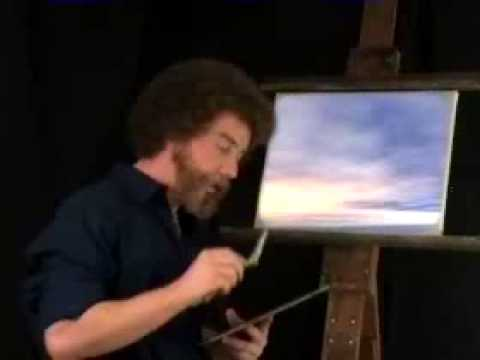 Bob Ross - Happy Little Outtakes - YouTube