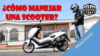 Como MANEJAR UNA SCOOTER? - #MotoTutorial - Motomoteros