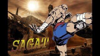 隆一生中最大的勁敵【Sagat沙卡特】Capcom角色介紹