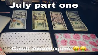 CASH ENVELOPES stuffing | July  part 1 | Dave Ramsey Inspired Budgeting