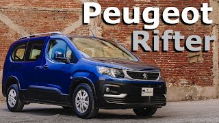 Peugeot Rifter - Con espacio real para siete pasajeros adultos | Autocosmos Video