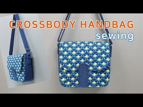 DIY Crossbody handbag/Handbag tutorial/크로스백 만들기