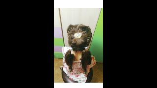 Easy hairstyle for girls!