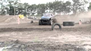 Mega Truck Bad Boys - Baddest of the Bad Race 2 - Bunnell