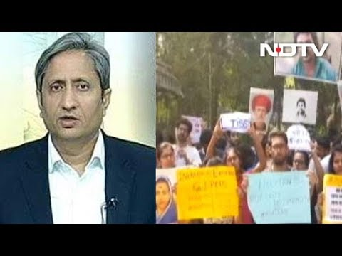 Tata Institute Of Social Sciences Students Protest Over Cancellation Of Aid