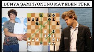 Magnus Carlsen'i Mat Eden Türk