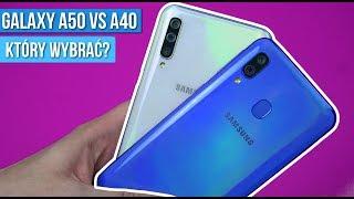 Samsung Galaxy A50 vs A40 - Porównanie - Czy WARTO DOPŁACAĆ do A50? / Mobileo [PL]
