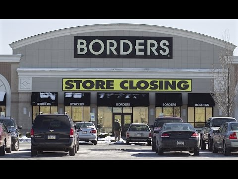 Abandoned: Borders Books in Camp Hill Pennsylvania