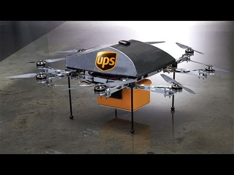 UPS Residential Delivery via Drone