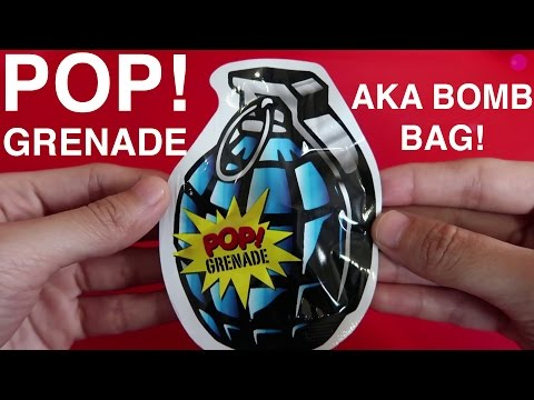 POP! GRENADE AKA BOMB BAG!