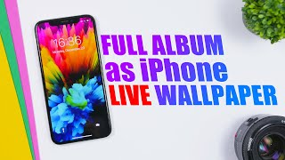 Set FULL Photos Album as a LIVE Wallpaper on iOS 13 ! screenshot 3