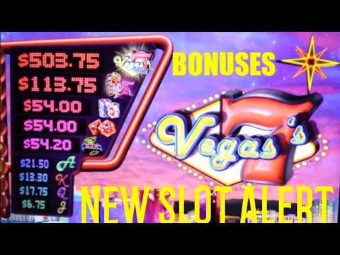Vegas 7's [BONUSES] New Slot Alert!