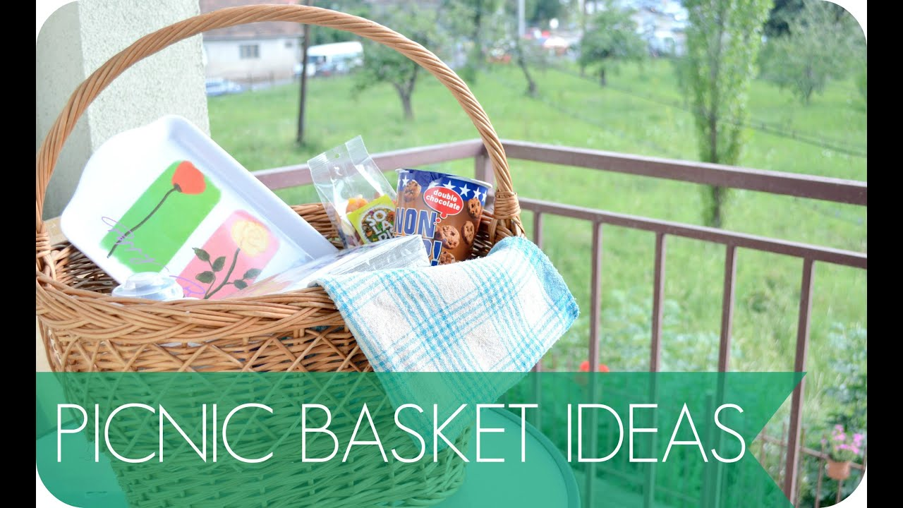 Creative Picnic Basket Ideas : Picnic basket ideas what to pack