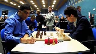 Viswanathan Anand teach Alireza Firouzja a little lesson   Tata Steel Chess 2020 - R11