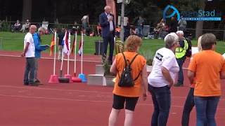 Opening Atletiek International Event U16 in Assen
