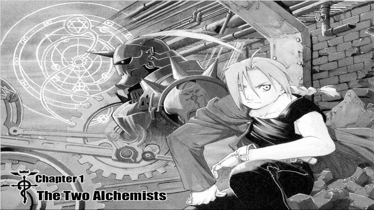 full metal alchemist manga - photo #48
