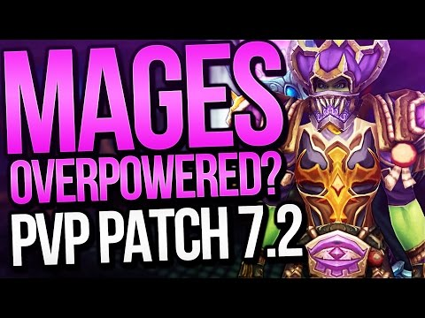 Mages Overpowered in PVP? 7.2 PTR Arena Discussion with Venruki