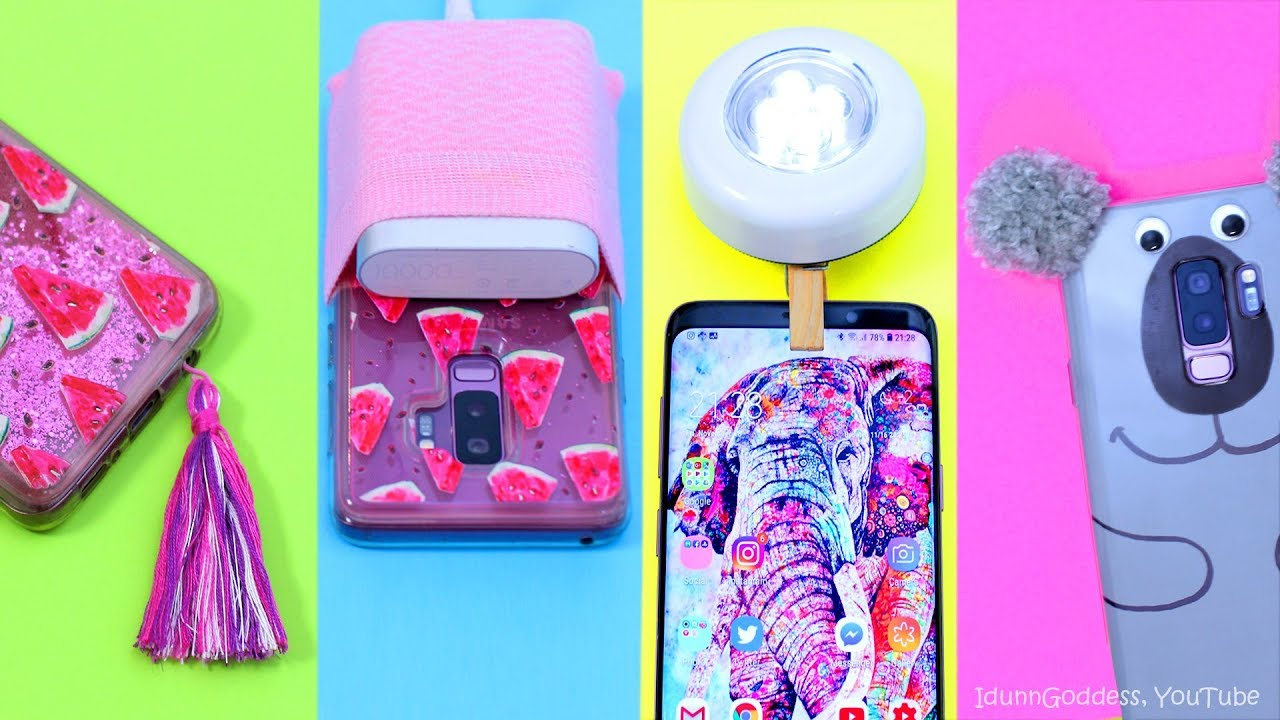 4 Diys For Your Phone Easy Diy Projects Smartphones