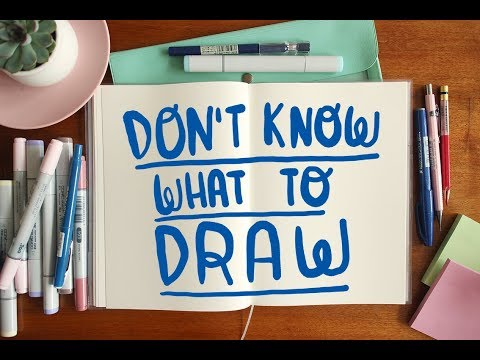 What to draw (when you don't know what to draw) ~ Frannerd