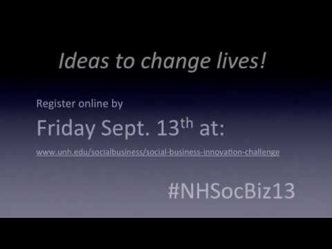 NH Social Business Innovation Challenge video