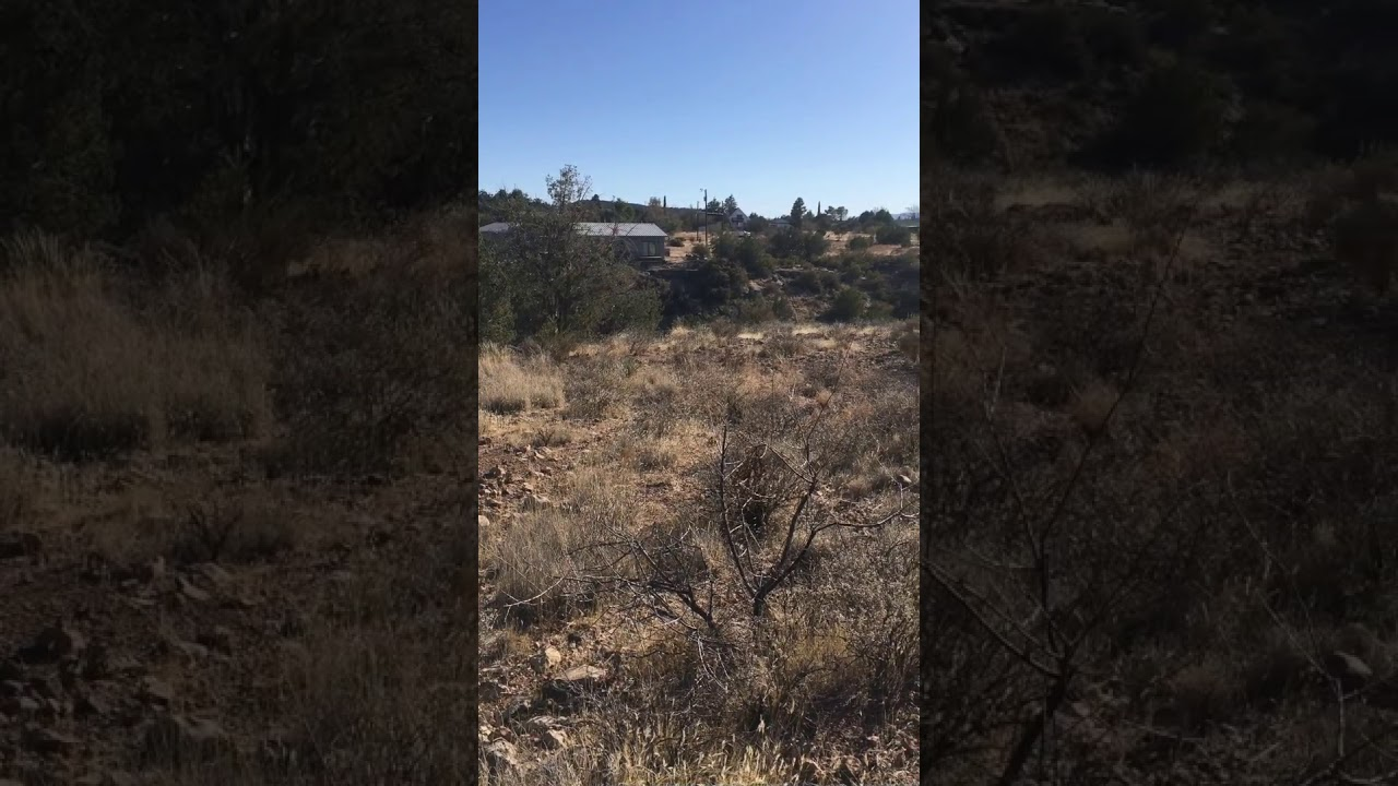 0.75 Acres - Power 155 Feet Away! In Rrimrock, Yavapai County AZ