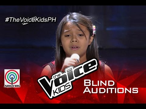 """The Voice Kids Philippines 2015 Blind Audition: """"Kailan"""" by Kezia"""