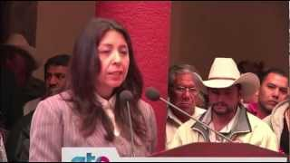 Participa titular de la Secretaría de Transparencia en toma de protesta de Salvatierra