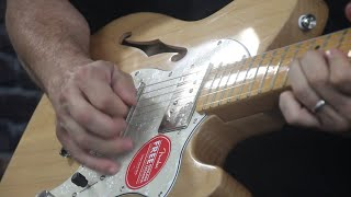 Squier Classic Vibe Thinline Telecaster Demo