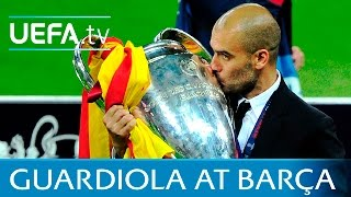 Guardiola's biggest Barcelona wins