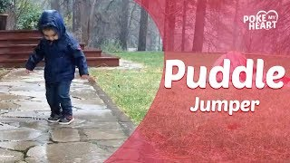 Toddler Keeps Falling In Puddle