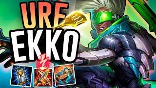 EKKO IS INSANE IN URF!! - Ultra Rapid Fire Ekko - League of Legends
