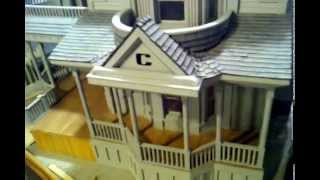 $30k Custom Built Victorian Dollhouse!