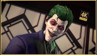 Villain Joker Reveal - Batman The Enemy Within (4K 60FPS)