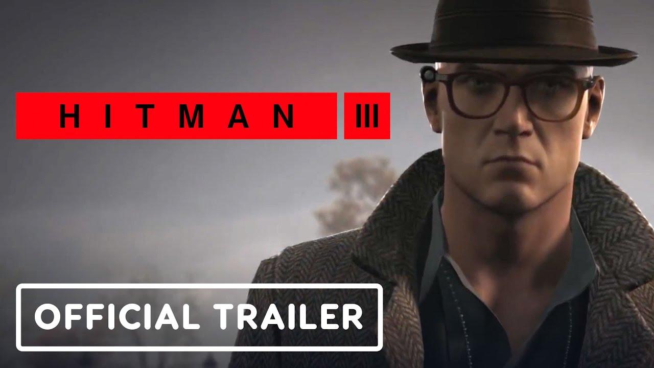 hitman 3 vr trailer