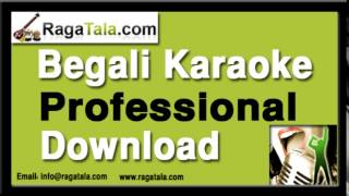 Download Hindi Video Songs - Ei kule ami aar oi kule tumi - Bengali Karaoke - Manna Dey