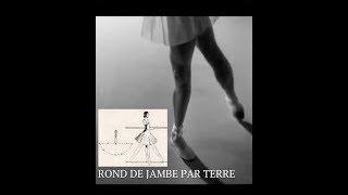 Ballet class - Rond de jambe par terre
