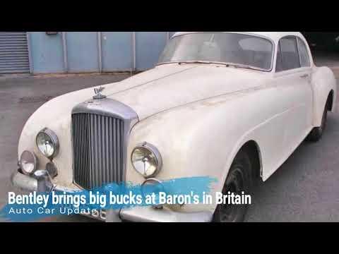 Bentley brings big bucks at Baron's in Britain