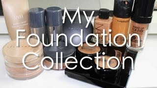 My FOUNDATION collection + Favs (oily combination skin) Thumbnail