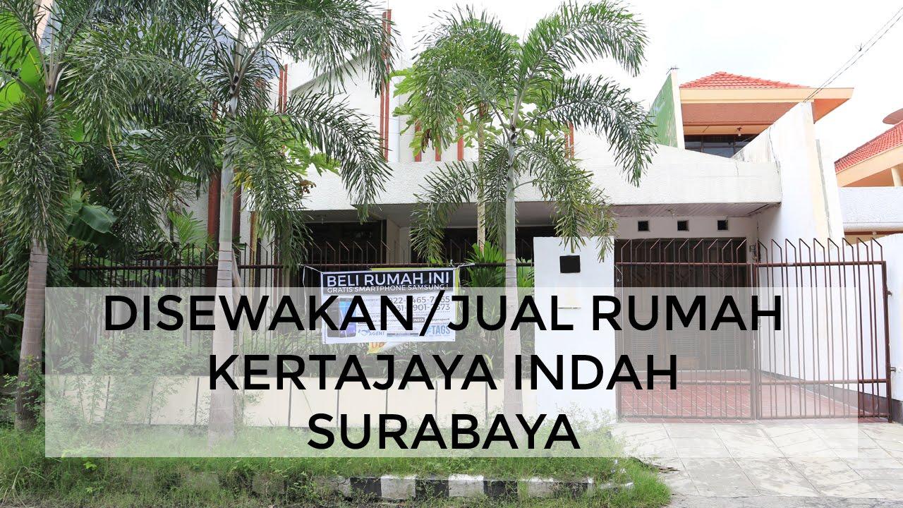 SOLD Disewakan/Jual Rumah Kertajaya Indah, Surabaya ...