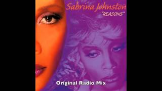 Sabrina Johnston   Reasons Original Radio Mix