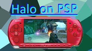Halo CE on PSP