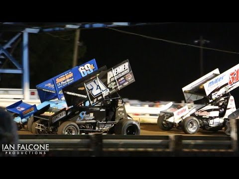 8.19.16  Williams Grove Speedway - Brian Montieth wins