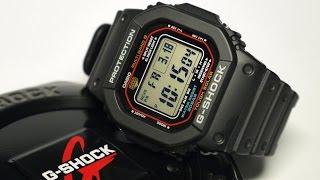 Casio G-Shock GWM-5610-1 Tough Solar Atomic Timekeeping Watch