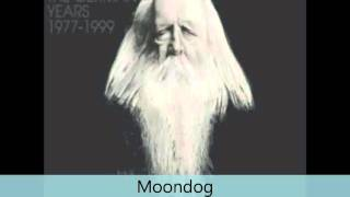 Moondog - Rééditions - Jazz book- no. 2