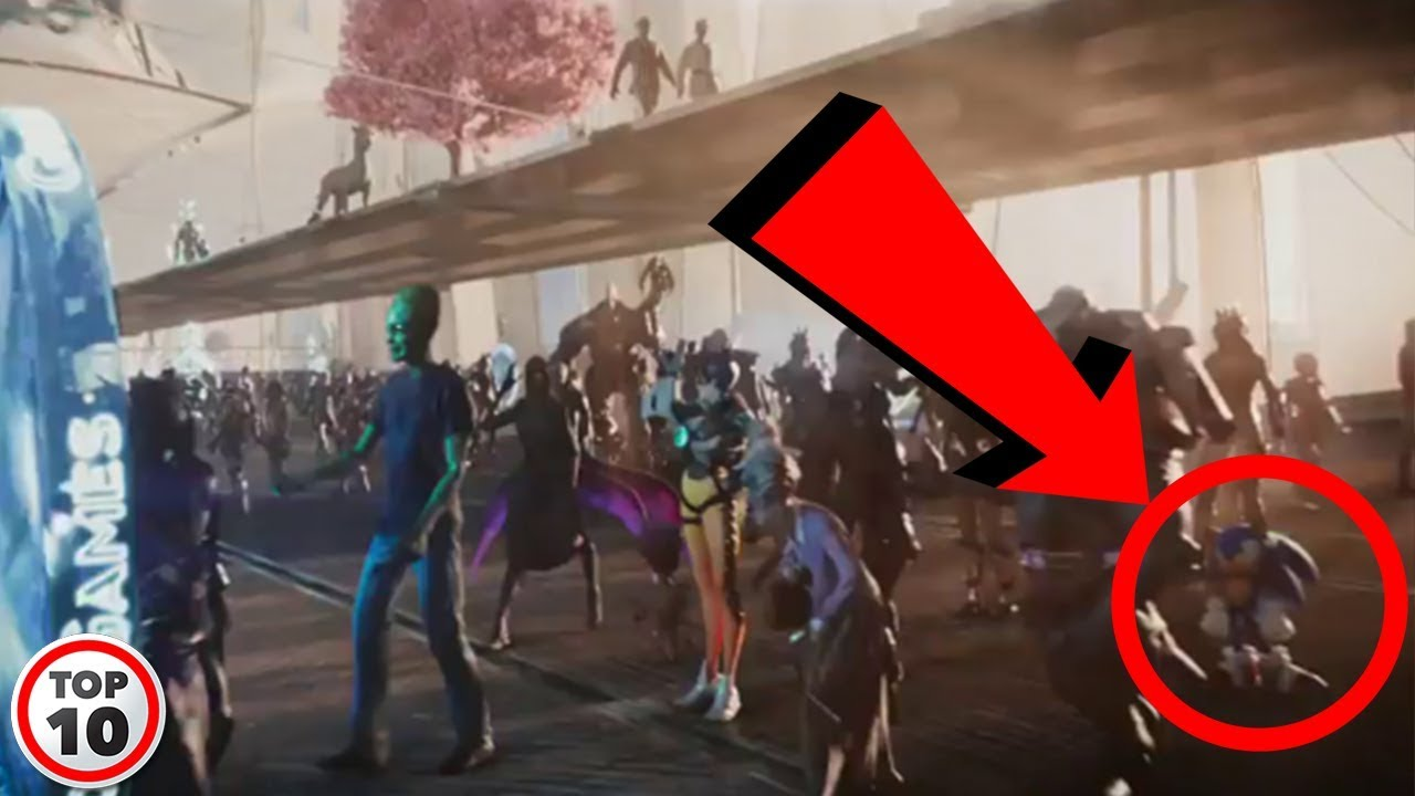 Top 10 Easter Eggs You Missed In Ready Player One YouTube
