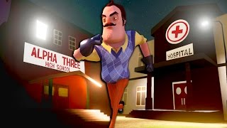ALPHA 3 HIGH SCHOOL, HOSPITAL, CHURCH & MORE - Hello Neighbor Alternate Locations