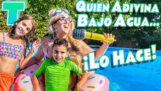 SI ADIVINAS BAJO EL AGUA ¡LO HACES! Challenge