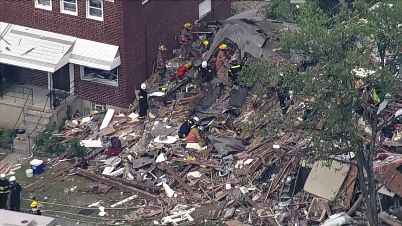 Aerial footage shows aftermath of Baltimore explosion | FOX 5 DC