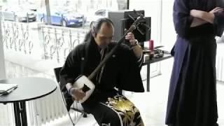 Japonska hudba shamisen/ Kenning Productions
