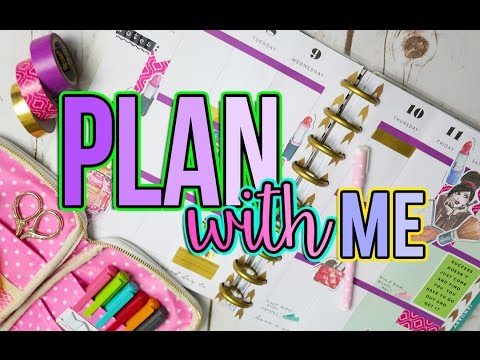 plan-with-me:-♥-365-happy-planner-by-mambi!